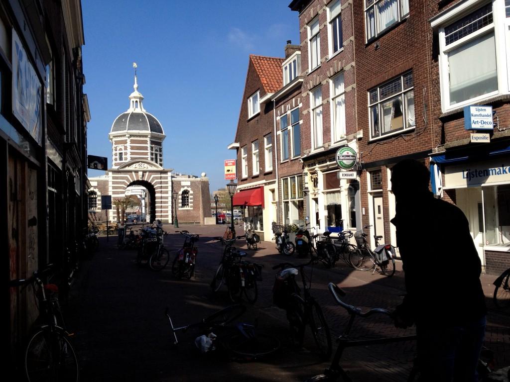 VIista del centro histórico de Leiden