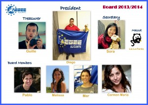 NEW BOARD AEGEE-ALICANTE