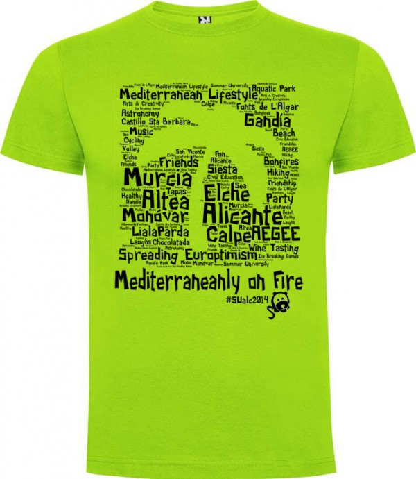 muestra virtual camisetas aegee alicante