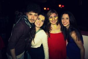 neón party