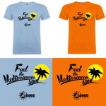 CAMISETA HOMBRE - AEGEE ALICANTE - Feel the Mediterranean Soul